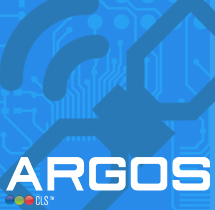 ARGOS satellite communications and circuit board