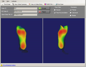 Orthotic Screen