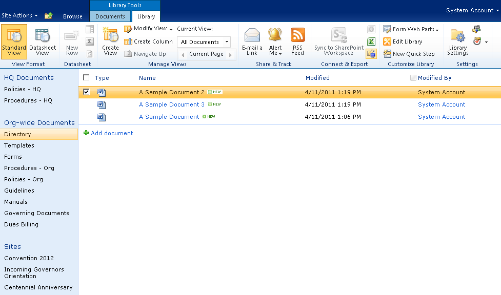SharePoint Enterprise Document Management