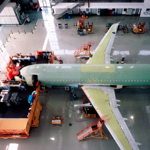 Large-scale Airplane Assembly