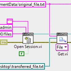 Using WebDAV to Transfer Files from a Linux cRIO | DMC, Inc