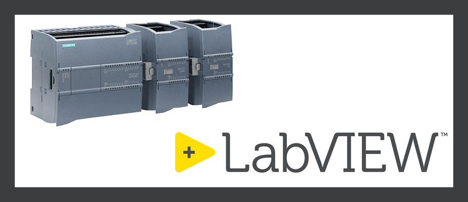 Datalogging From a Siemens PLC to LabVIEW: Easier Than You