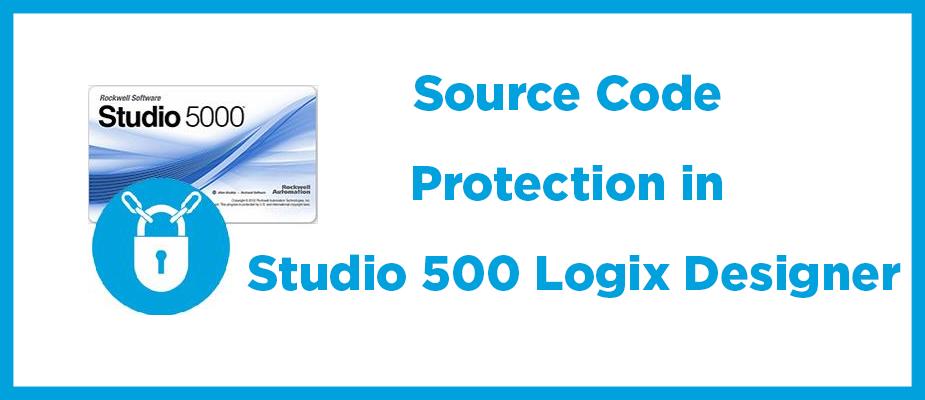 Source Code Protection in Studio 5000 Logix Designer | DMC, Inc
