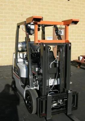 Mobile Volume Measurement Device on Fork Truck a Success
