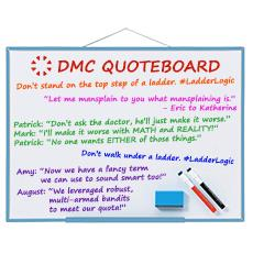 DMC Quote Board - December 2015