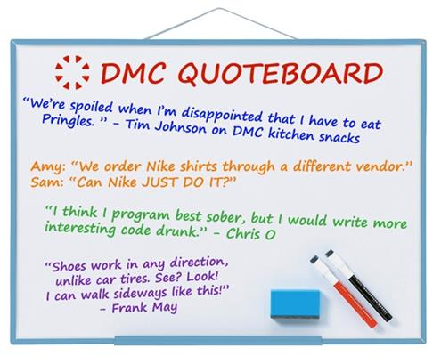 DMC Quote Board - June 2016