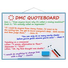 DMC Quote Board - December 2018