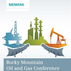 WinCC OA Presentation at the Rocky Mountain Oil and Gas Conference