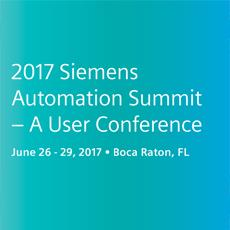 2017 Siemens Automation Summit to Feature 5 DMC Presentations