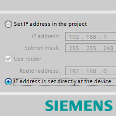 Connecting to a Siemens PLC with Access Address