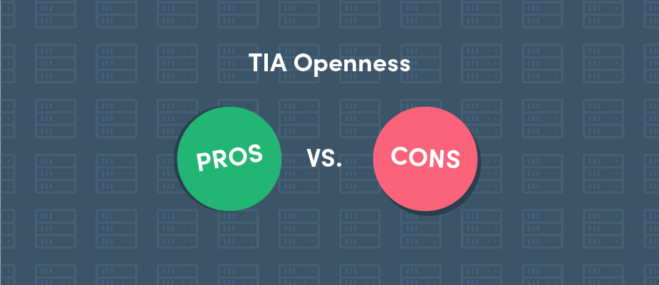 Advantages & Disadvantages of Siemens' TIA Openness