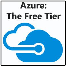 Selecting a Pricing Tier in Azure: The Free Tier