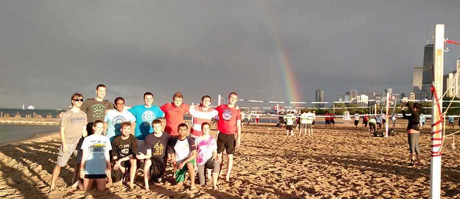 DMC Chicago Gets Competitive With Beach Volleyball