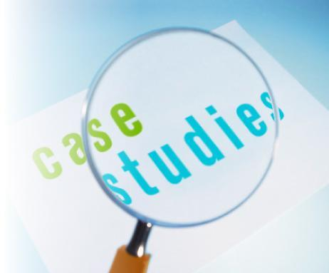 Check out our new Case Studies!