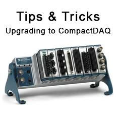 Tips and Tricks for Upgrading your NI Compact Fieldpoint to CompactDAQ