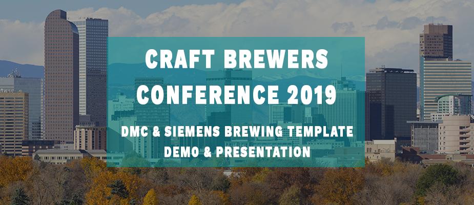 DMC & Siemens to Present at the 2019 Craft Brewers Conference