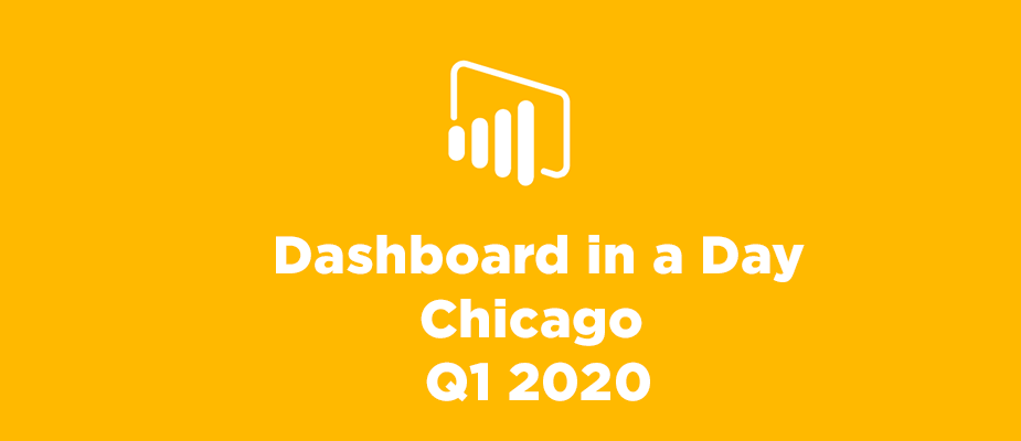 Dashboard in a Day 2020 Quarter 1 Events