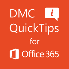 DMC QuickTip #1: Uploading Files to OneDrive for Business