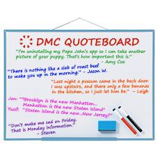 DMC Quote Board - May 2017