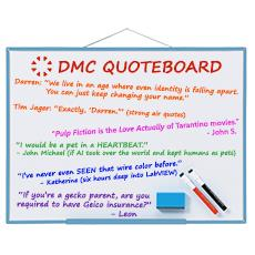 DMC Quote Board - November 2018