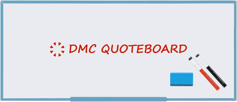 DMC Quote Board - October 2019