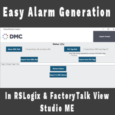 Easy Alarm Generation in RSLogix and FactoryTalk View Studio ME