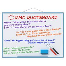 DMC Quote Board - July 2015