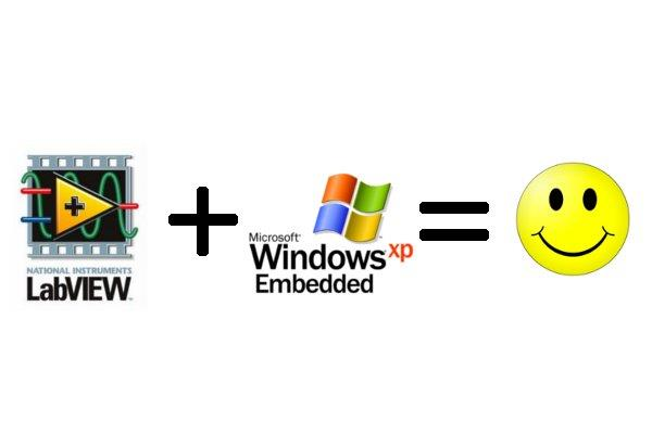 Using LabVIEW with Windows XP Embedded (XPe)