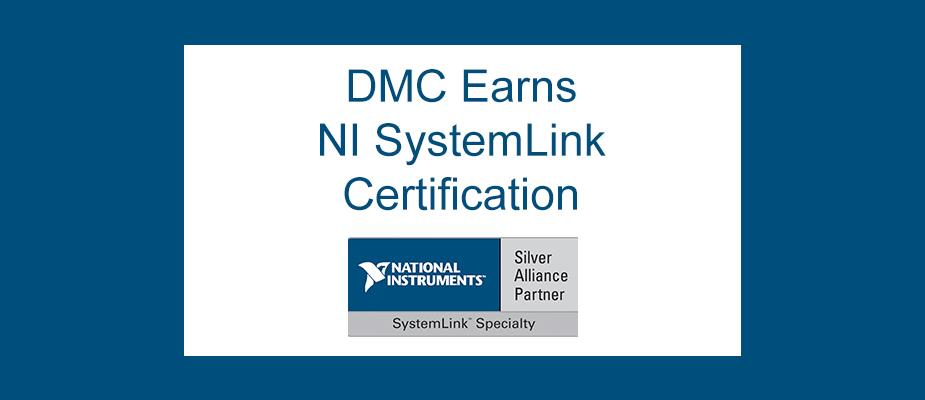 DMC Recognized as a SystemLink Specialty Alliance Partner