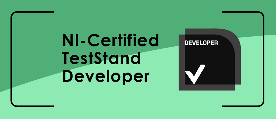 DMC Engineers Recognized as NI Certified TestStand Developers