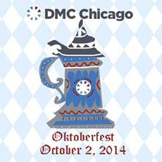 Celebrate Oktoberfest at DMC Chicago, October 2, 2014