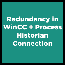 Redundancy in WinCC + Process Historian Connection