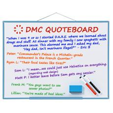 DMC Quote Board - October 2016