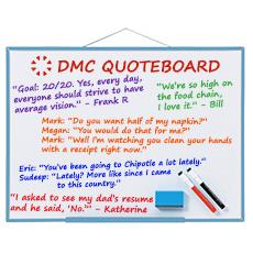 DMC Quote Board - April 2015
