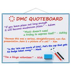 DMC Quote Board - May 2015