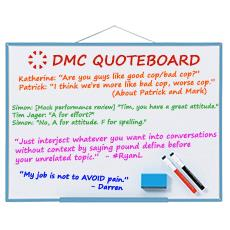 DMC Quote Board - October 2015