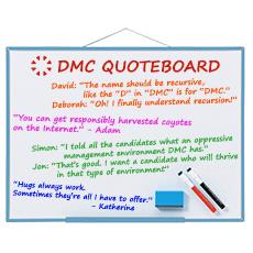 DMC Quote Board - November 2015