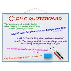 DMC Quote Board - May 2018