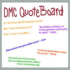 DMC Quote Board - May 2013