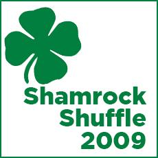 DMC Braves the Elements for Shamrock Shuffle