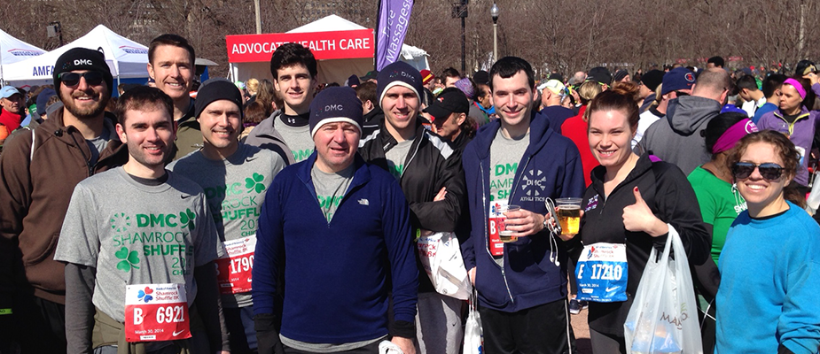 Shamrock Shuffle 2014 Meets the DMC Competition