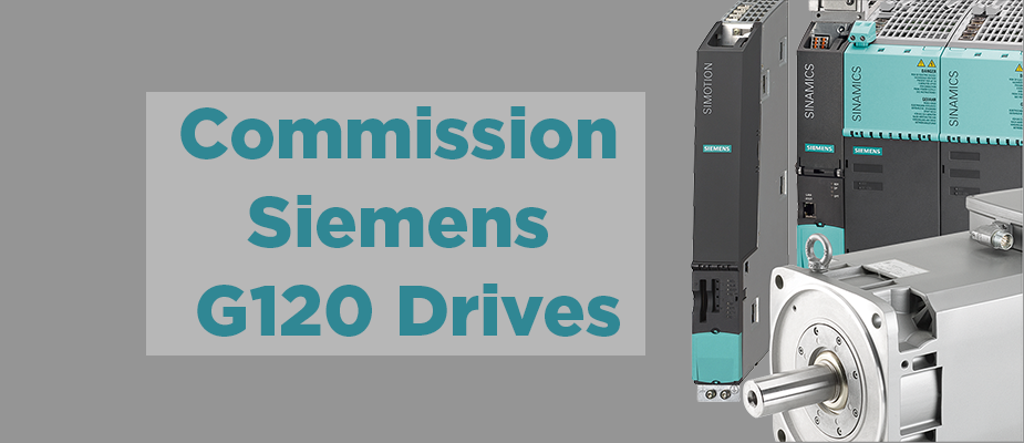 Commissioning Siemens G120 Drives with Startdrive in TIA Portal