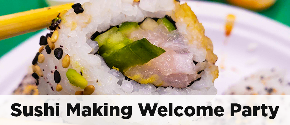 A Tasty Sushi Class to Welcome New Hires!