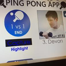 DMC Ping Pong App Upgrade 2.0