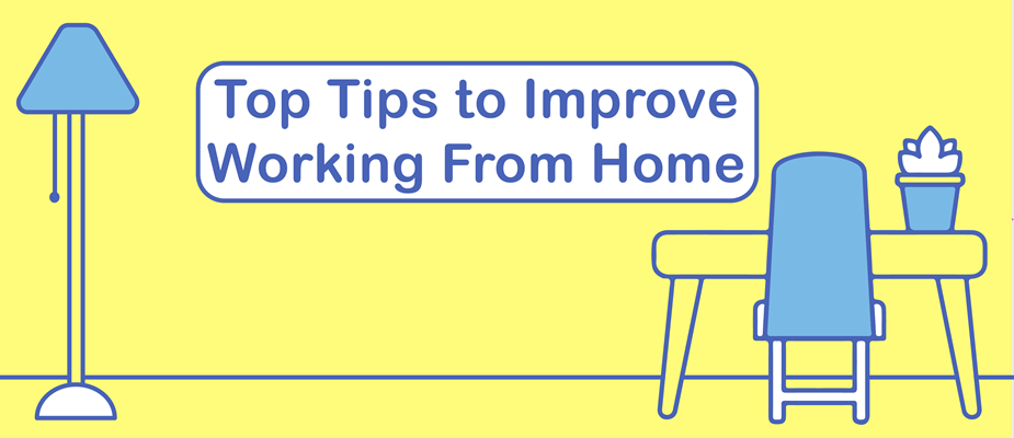 DMC's Top Tips to Improve Working From Home