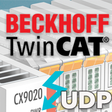 UDP Communication on Beckhoff's TwinCAT 3