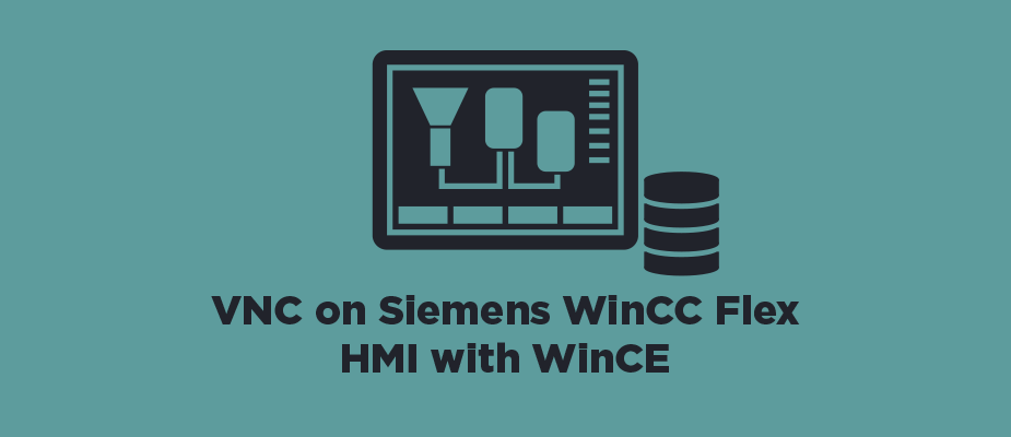 VNC on Siemens WinCC Flex HMI with WinCE