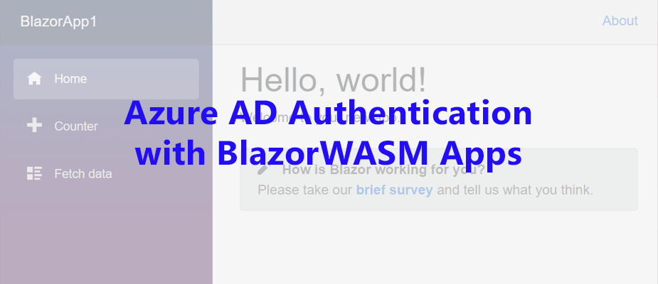 Azure AD Authentication with BlazorWASM using OAuth2