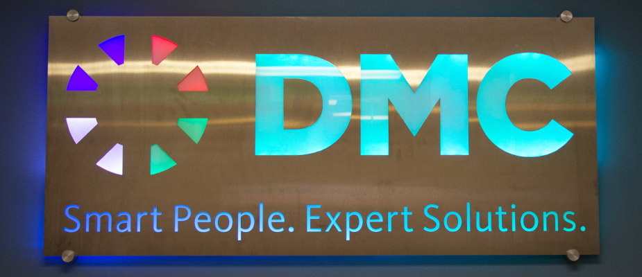 DMC Denver's Sign Gets a Glow Up