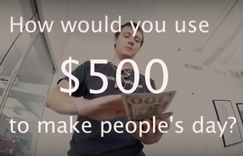 Here's How One Team at DMC Used $500 to Make People's Day in NYC